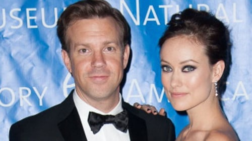 Sudeikis confirms SNL exit, pictured here with fiancée Olivia Wilde