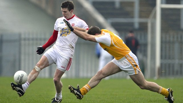 Tyrone had six points to spare over Antrim in the McKenna Cup