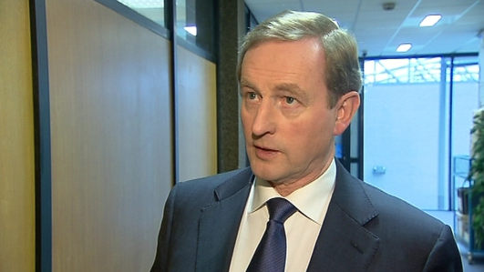 The Taoiseach Enda Kenny discusses the economy, abortion and the riots in Belfast