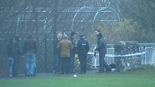 Shooting took place at a foot bridge in Memorial Park
