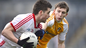 Darren McCurry impressed for Tyrone at Casement Park