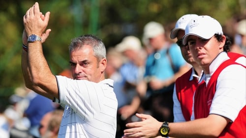 Paul McGinley is Rory McIlroy's favoured choice to captain the European Ryder Cup team in 2014