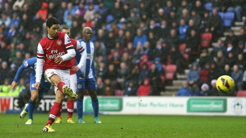 Mikel Arteta has been ruled out for three weeks