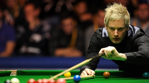Neil Robertson hit a break of 119 on his way to victory