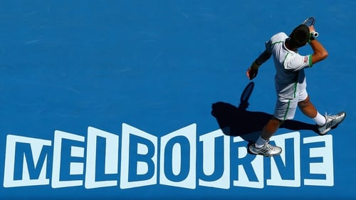 Novak Djokovic enjoyed a straight sets victory in the opening round at the Australian Open