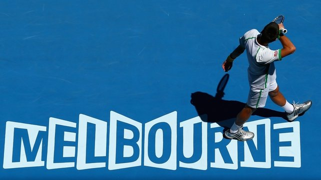 The Australian Open begins in Melbourne on Monday