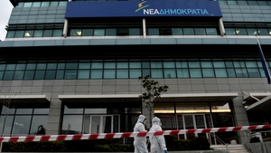 The offices targeted had been used by Greek Prime Minister Antonis Samaras