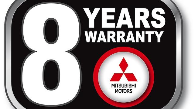 Eight-year warranty