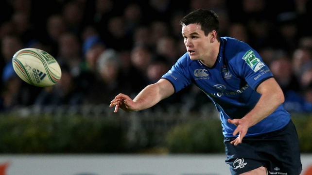 Jonathan Sexton is back at No 10 for Leinster