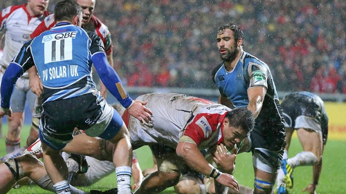 Nick Williams was among the Ulster try scorers against Glasgow