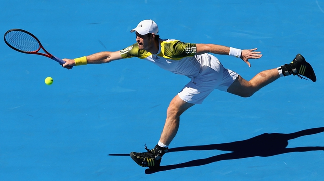 Andy Murray beat Robin Haase in straight sets to stroll through to the second round in Melbourne