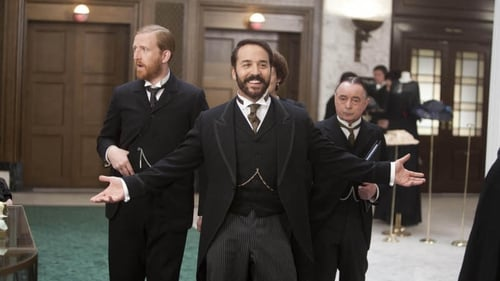 Jeremy Piven shows his delight as Mr Selfridge lands a third season