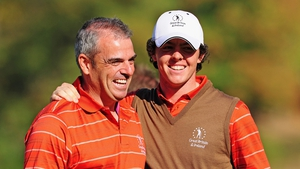 Paul McGinley will be able to chose World number one Rory McIlroy