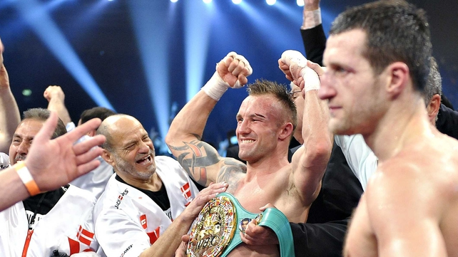 Mikkel Kessler was a narrow winner over Carl Froch in the first meeting