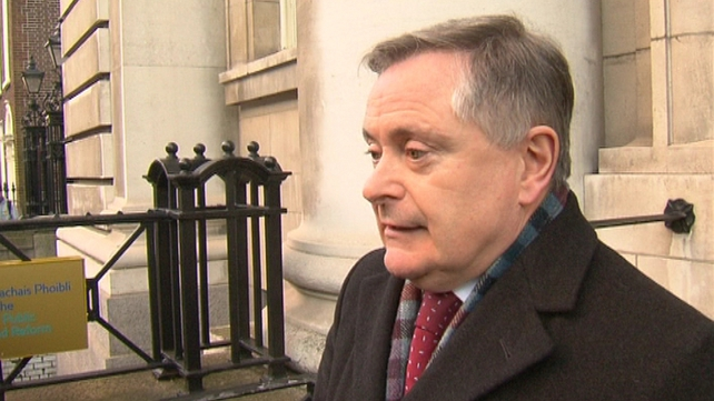 Brendan Howlin said reaching a deal will not be an easy task
