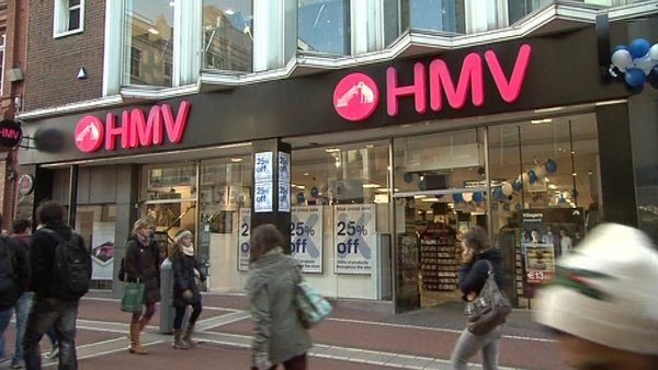 HMV warned in the run-up to Christmas that its future was uncertain