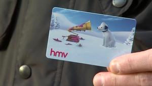 National Consumer Agency says HMV should honour Irish gift vouchers