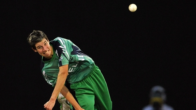 George Dockrell's bowling helped Ireland to victory over the Netherlands