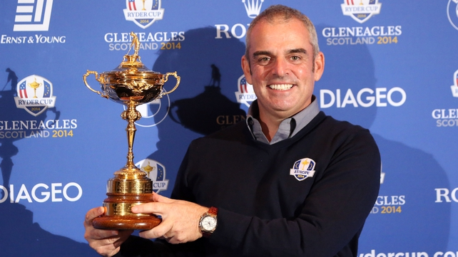 Paul McGinley will be able to pick three wildcards for the 2014 Europe team