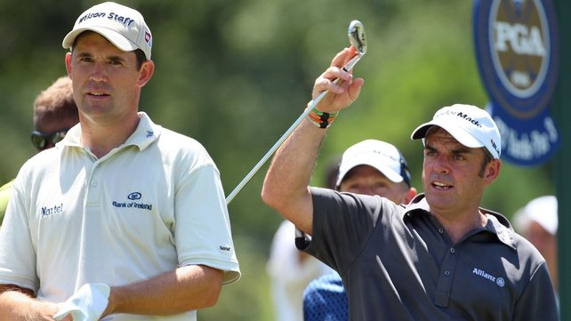 Padraig Harrington has welcomed the appointment of Paul McGinley as Ryder Cup captain