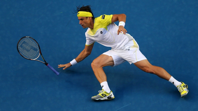 David Ferrer has reached the third round at the Australian Open