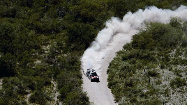 BMW's Orlando Terranova competes during the tenth stage of