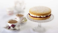 Victoria Sponge - A traditional and a classic, the simple and delicious sponge from Rachel Allen