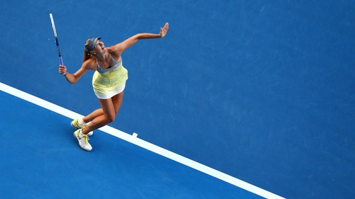 Maria Sharapova crushed Misaki Doi 6-0 6-0