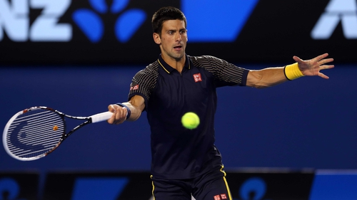 Novak Djokovic made light work of despatching Ryan Harrison