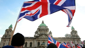 There have been protests in Belfast since councillors voted to limit the number of days the Union flag is flown over city hall