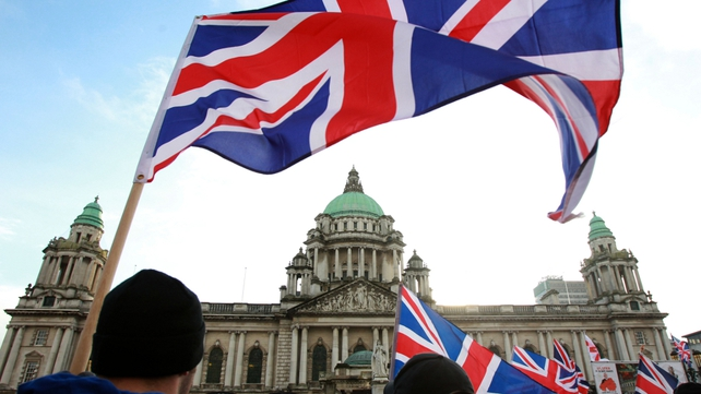 Protests over the flying of the Union flag are now in their eighth week