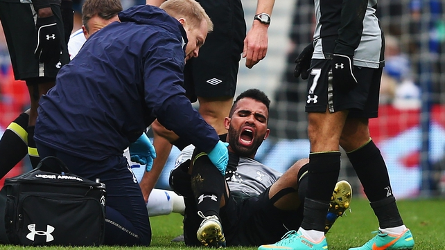 Sandro's recovery schedule will be assessed over the next few days