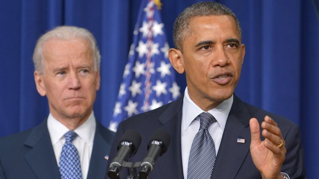 Barack Obama and Joe Biden have been sworn in for a second term in office