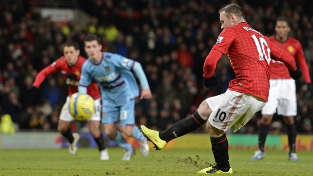 Wayne Rooney skied his penalty over the crossbar