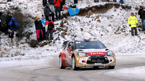 Sebastien Loeb started the new season just as he finished the last