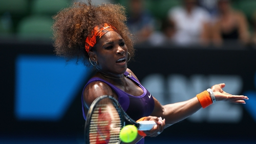 Despite easy victories, it's been an eventful tournament so far for Serena Williams