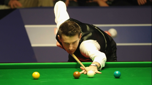 Mark Selby took the final five frames