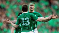 Alan Quinlan and Victor Costello debate the Irish captain issue