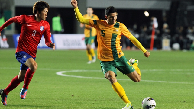 Rogic in action for Australia in a recent friendly international