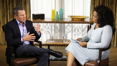 Armstrong told Oprah his lifetime ban is the sporting equivalent of the 'death penalty'