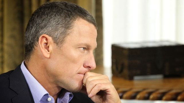 Armstrong said the penalty he was given by the US Anti-Doping Agency (USADA) was much harsher than the sanctions dished out to other self-confessed cheats