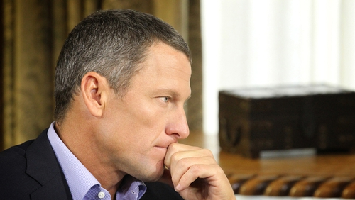 The eyes of the world were on Lance Armstrong as he confessed to drug-taking during his career
