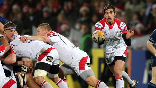 Ulster will face Saracens in the Heineken Cup quarter-finals on Saturday 6 April, venue TBC