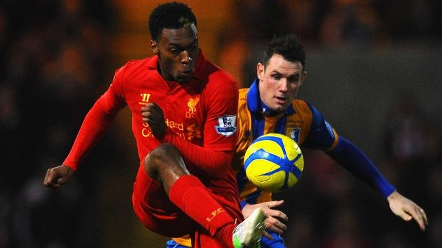 Daniel Sturridge is hoping to be back in action by Monday