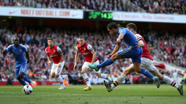 Chelsea entertain Arsenal on Sunday