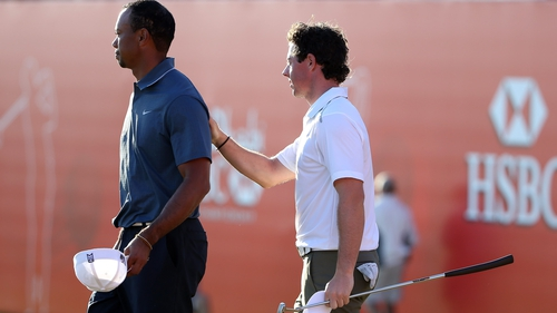 Tiger Woods and Rory McIlroy will both be kicking their heels this weekend