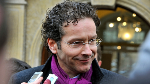 Euro group head Jereon Dijsselbloem was due in Washington for annual IMF meetings
