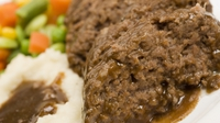 Homemade meat loaf with garlic mash - Kevin Dundon pops by the Today studio to make a simple American classic