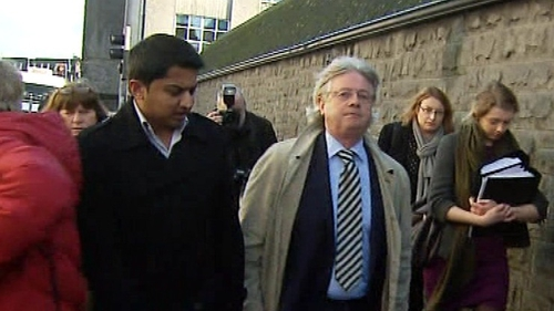 Gerard O'Donnell (r) said Praveen Halappanavar wants to know why his wife died