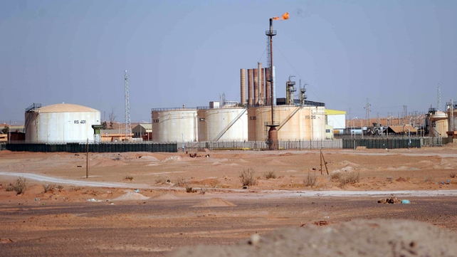 Islamist militants stormed the gas plant on Wednesday
